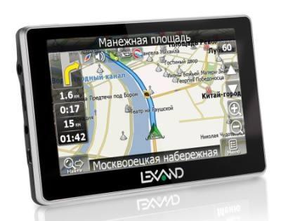 Автомобильный GPS навигатор
