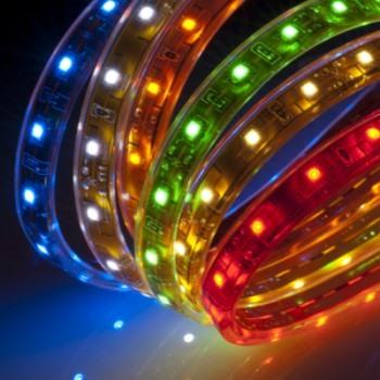 Цветомузыка на светодиодной ленте