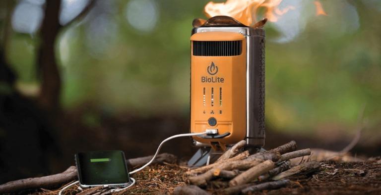 BioLite — печка для туристов