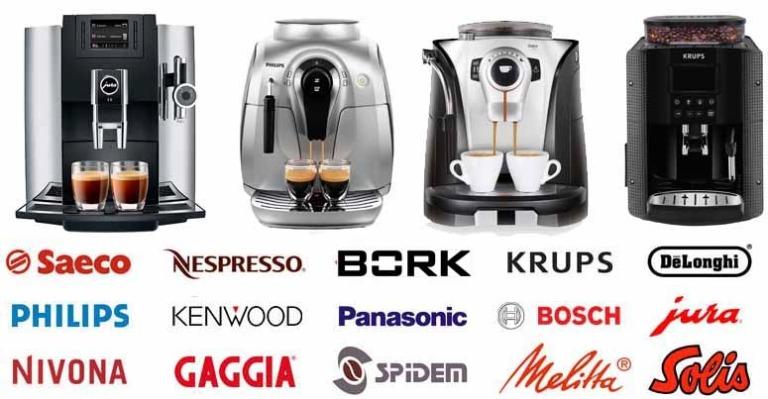 Виды домашних кофемашин