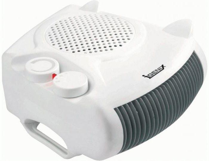 Бытовые электрические тепловентиляторы