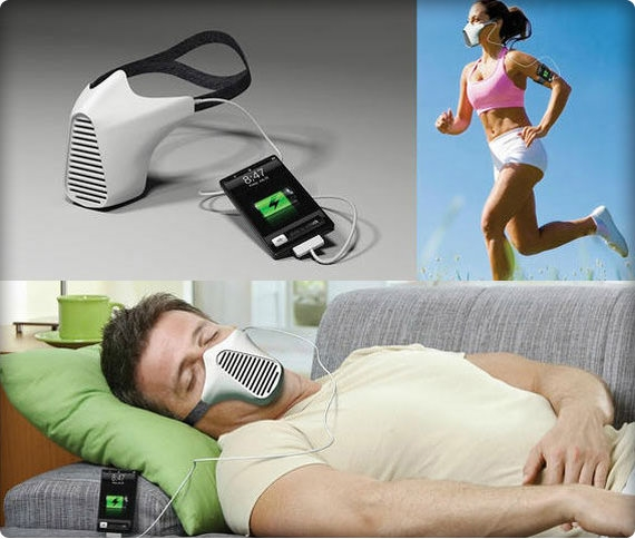 Зарядите электронные устройства дыханием