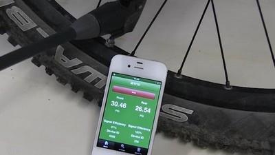Датчик давления в шинах велосипеда