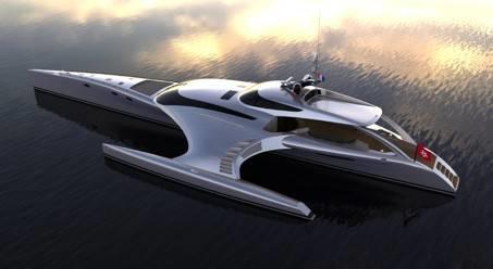 iPad дистанционно управляет яхтой
