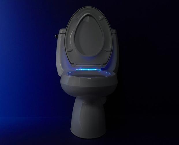 Автоматическая светодиодная подсветка санузла