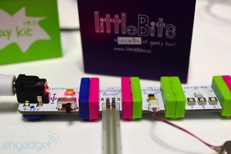LittleBits — конструктор для маленьких инженеров в вашем доме